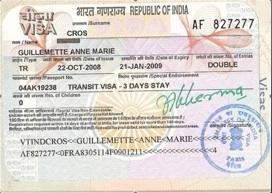 Visa indien