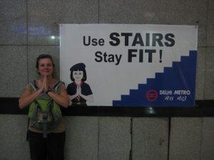 Avertissement du métro