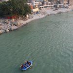 Rafting sur le Gange
