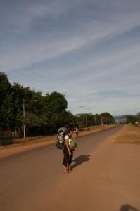 Choupi sur la route