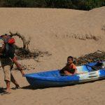 Kayak pulling