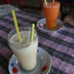 Coconut et carrot shake