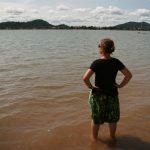 Choupi dans le Mékong