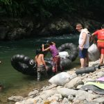 Préparatifs rafting