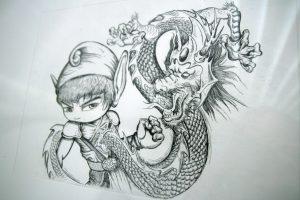 Dessin de Link