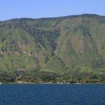 Lac Toba depuis le bateau