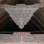 Détail d'un toit batak