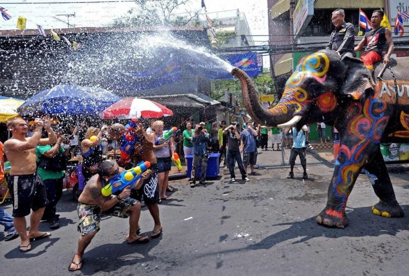 Songkran - Thaïlande