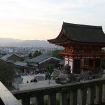 Coucher de soleil sur Kyoto