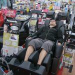 Test fauteuil massant