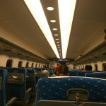 Le shinkansen, aussi luxueux qu'un avion