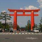 Tori en plein Kyoto
