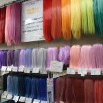 Perruques multicolores