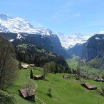 Vue sur la Jungfrau