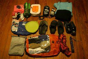Contenu du sac de randonnée pour Choupi