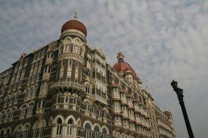 Façade du Taj Mahal Hotel de Mumbai