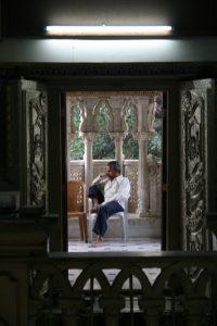 A l'intérieur de Jaïn Temple