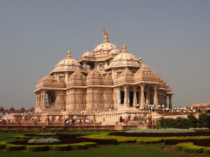 Temple d'Akshardham (source : Wikipedia)