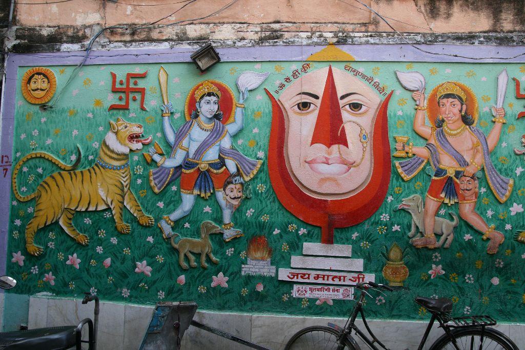Udaipur la ville blanche notre petit grain d 39 asie for Decoration murale ville