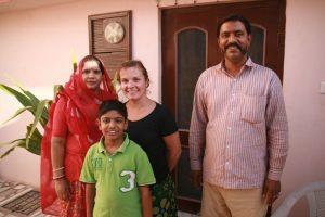 Famille de la guesthouse