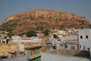 Vue sur le fort Merangarh