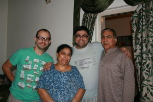 Mohit et ses parents