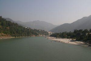 Vue sur le Gange