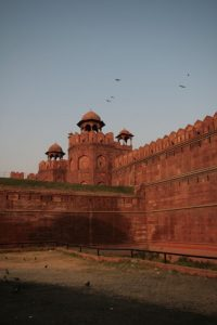 Red Fort en fin de journée