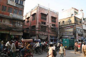 Rues de Old Delhi