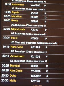 Notre vol Londres Mumbai de 20h25