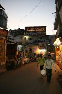 Tombée de la nuit sur Udaipur