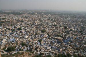 Vue sur Jodhpur