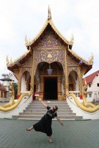 Choupi au Wat
