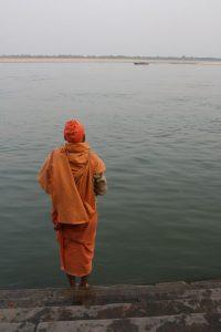 Contemplation sur le Gange