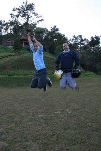 Jump avec un thaï