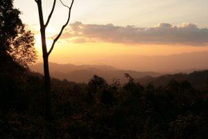 Sunset aux environs de Paï