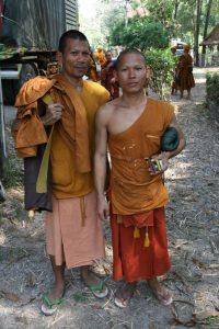 Moines de Sukhothai