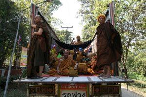 Convoi de moines