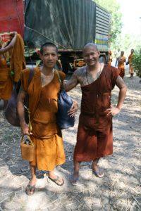 Les moines en balade