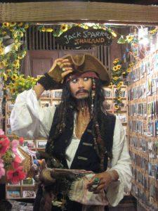 Le Jack Sparrow thaïlandais