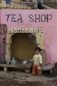 Marchande de thé :)