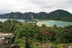 Panorama de l'île