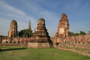 Stupas défraîchis