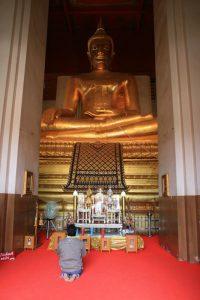 Prière à Buddha