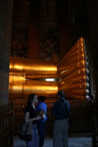 Pieds du Buddha de 14m