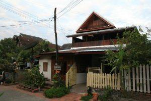 Maison typique de Luang Prabang