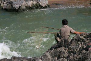 Pêcheur à Li Phi