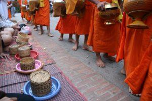 Rangée de moines