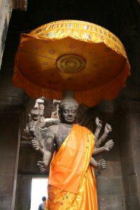 Statue de Shiva - Angkor Wat