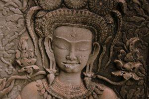Détail d'Angkor Wat